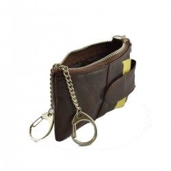 Man leather Key Case  -...