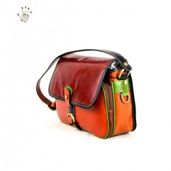 Woman Leather Shoulder Bag...
