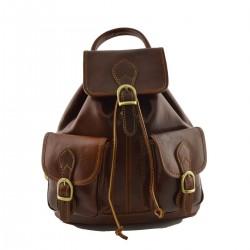Leather Backpack  - BZN2609