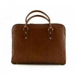 Porta Notebook in Pelle  -...