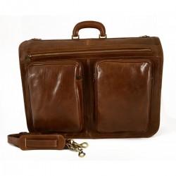 Leather Garment Bag  - BVN1901