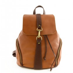 Leather Woman Backpack,...