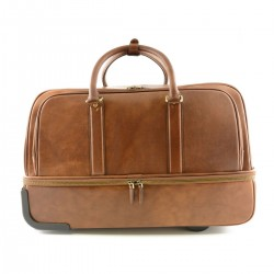 Leather Trolley Bag in with...