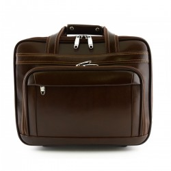 Leather Business Trolley...