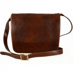 Genuine Leather Messenger 2...