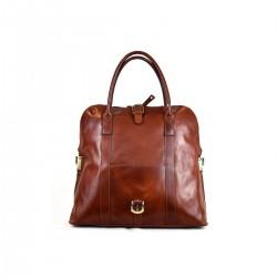 Genuine Leather Satchel Bag...
