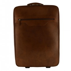 Leather Trolley with...