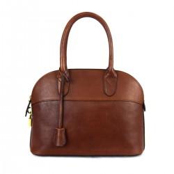 Leather Handbag for Woman...