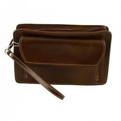 Genuine Leather Man Clutch...