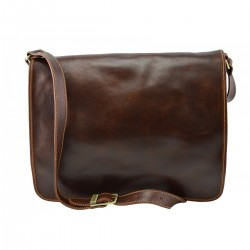 Genuine Leather Messenger...