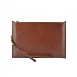Genuine Leather Clutch  -...