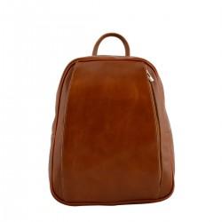 Genuine Leather Backpack  -...