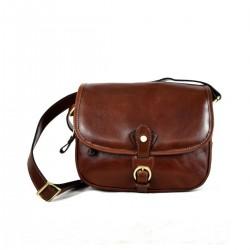 Woman Shoulder Leather Bag...