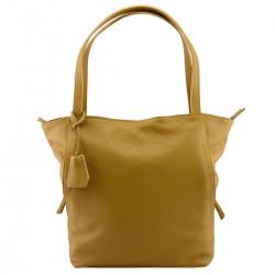 Genuine Leather Shopper Bag...